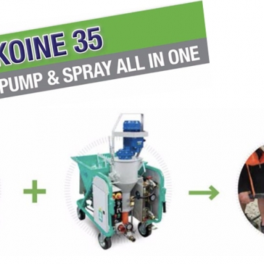 Are You Spraying Mortar Or Render In Brisbane? Check Out The Imer Koine 35!